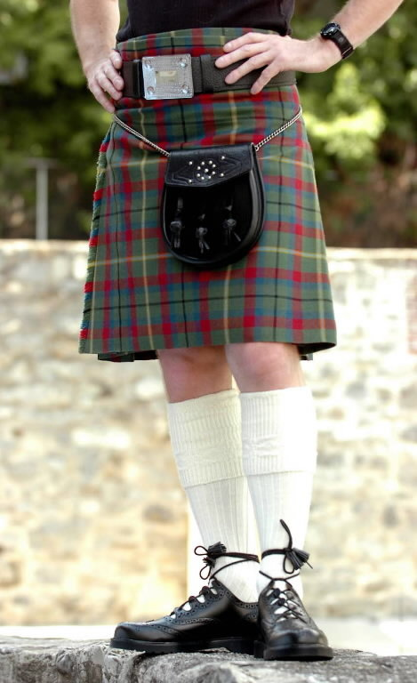 How a kilt should be worn according to all the regulations.