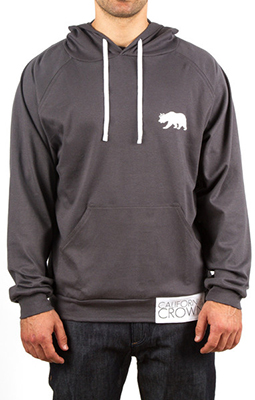 This hoodie by California Crown is made in Peru. It is very soft and made to last.