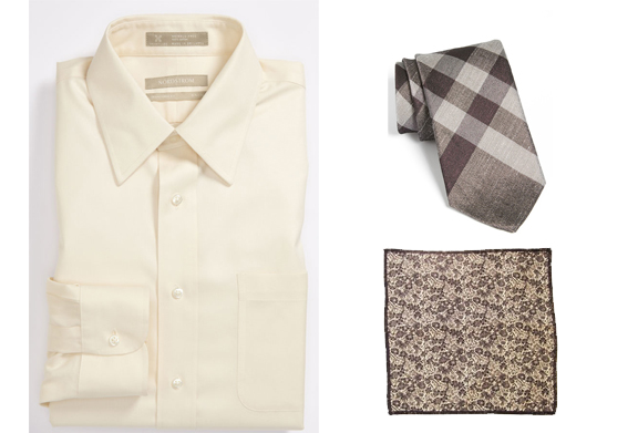 To avoid any 50 shades of gray references, we chose to showcase all-beige pieces