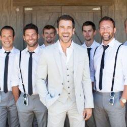 Groom-and-groomsmen