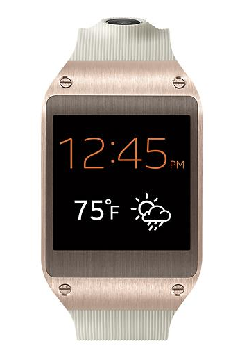 Samsung Galaxy Rose Gold Smart Watch