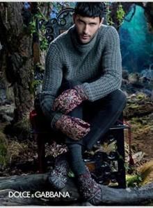 Noah Mills Dolce and Gabbana