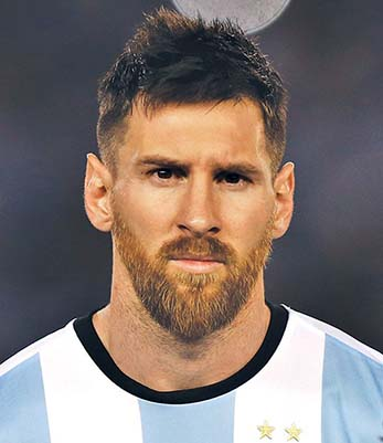 Lionel Messi Beard Attire Club By Fraquoh And Franchomme